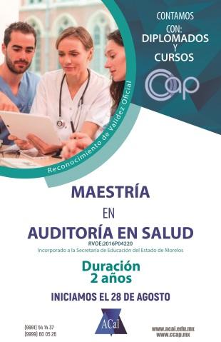 Maestría en Auditoría en Salud